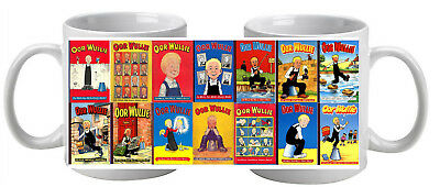 Oor Wullie  Mug featuring 14 annual covers Great Gift Socking Filler