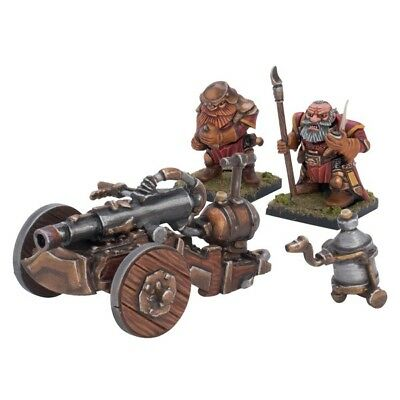Mantic Kings of War Zwerge Dwarves Flame Belcher Cannon Kanone 28mm Warhammer