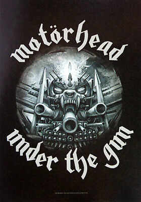 MOTORHEAD 'Under the Gun' Textile Poster * Ideal Gift * Warpig *