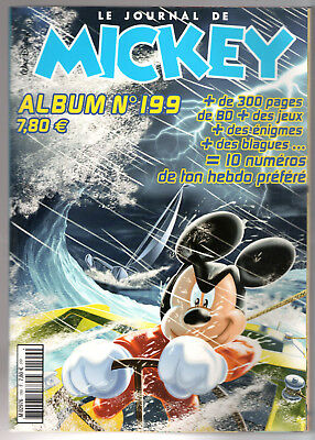 ALBUM LE JOURNAL DE MICKEY n°199 ¤ n°2622 à 2631 ¤ 2002 DISNEY
