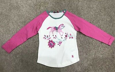 Girl's Joules Top Size 6 immaculate condition