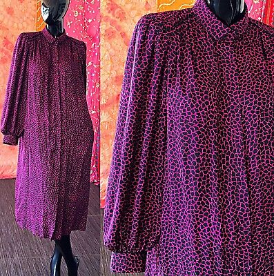Vintage 80s Disco Party Dress Francesca Of Damon Starington Silk Maxi