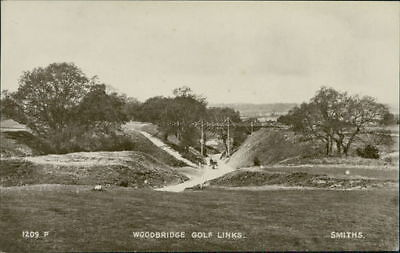 WOODBRIDGE Golf Course Postcard nr Ipswich SUFFOLK Smiths