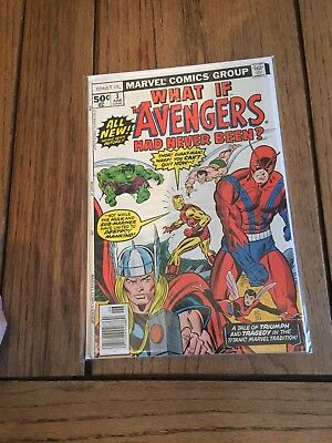 Marvel Comics What If The Avengers Had Never Happened #3 Bronze Age