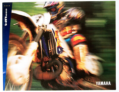 1994 YAMAHA WR250 Sales Brochure - New, Excellent Condition