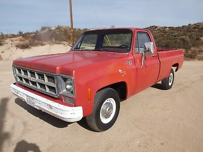 1978 Chevrolet C-10 custom 1978 chevy c10 straight rust free ca. truck solid as new truck is a gmc