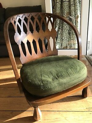 Vintage Art Deco low rise armchair, rare model. Great for a child.