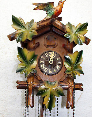 * Old Cuckoo Clock Wall clock Chime Clock SCHWARZWALD -made in Germany