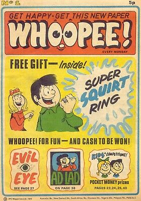 Uk Comics Whoopee! Collection Of 170+ Comics On Dvd