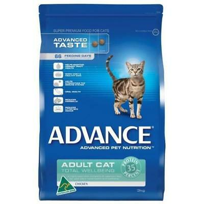 Advance Cat Adult Ttl Wellbg Chickn 20kg cat food