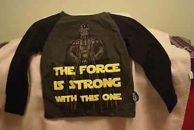 Atmopshere Boys t-shirt 18-24 months 'Star Wars'