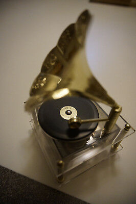 Schmid Musical Collectibles Victrola record music box We've Only Just Begun vtg
