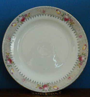 An Edwardian / Antique side plate by Samuel Radford hand coloured Luton Pattern