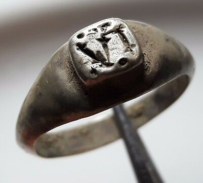 Legio Iv Macedonica Legionary ** Vi Engraved **  Silver  Roman Ring ** Perfect