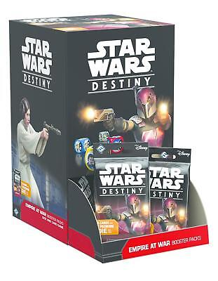 FFG Star Wars Destiny CCG Empire at War Sealed Booster Box FREE SHIP