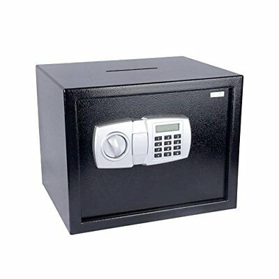 SereneLife Drop Box Safe with Mechanical Override, Includes Keys