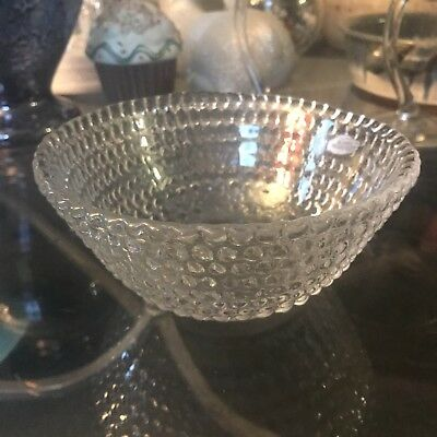 Blenko Handcraft bubble-glass Bowl - set of 6