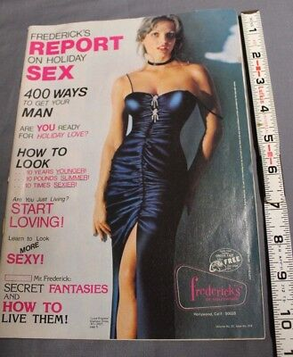 Frederick's of Hollywood Vintage catalog 1977 Volume. No. 31 Issue No. 214