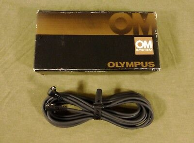 Olympus OM 5 meter 15 ft A-310 Flash Synchro Connection Cord  Remote Sync