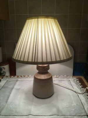 Iden Pottery Rye Lamp With Or Without Shade