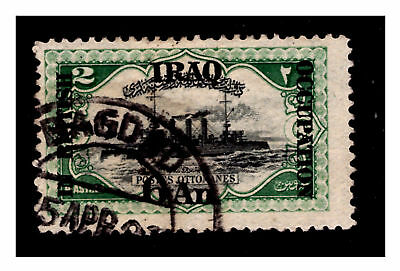 British Occupation Iraq Stamp. 6an Baghdad Postmark  1917/18. Used. #469
