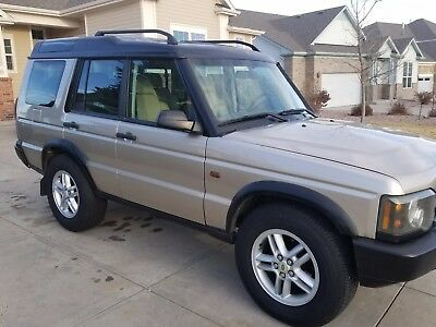 2003 Land Rover Discovery  2003 land rover discovery