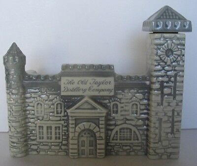 1887 Old Taylor Medieval Castle Distillery Decanter Now Castle And Key