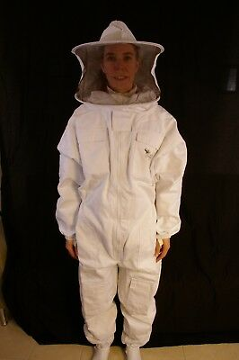 Professional Beekeeping Suit with Round Veil - 2XSmall