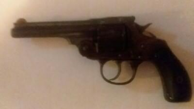 Iver Johnson's Arms&cycle works 1898 2nd variation 2nd hammer s&w 5shot revolver