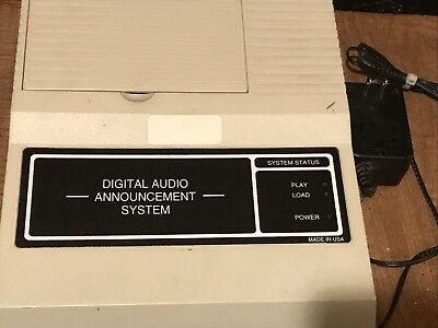 NEL-TECH AL-500P II; DIGITAL AUDIO ANNOUNCEMENT SYSTEM; Might need refurbished.