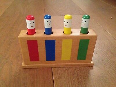 Classic Galt Toys Wooden Pop-up Toy