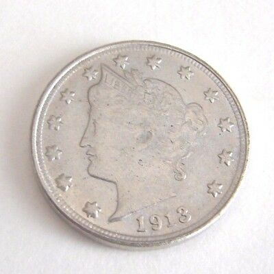 1913 5 Cent Liberty Fantasy Nickel Coin