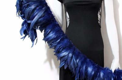 20 Blue Rooster Feathers 12-20cm DIY Millinery DIY Craft Dream Catcher Juju Hat