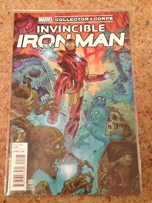 Invincible Iron Man Issue #1 (Variant) Marvel Comics