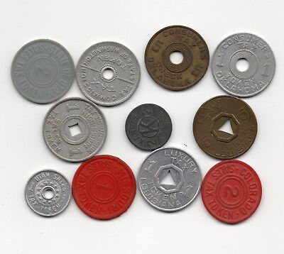 Tax Tokens - War Era - Tax Tokens - (11)