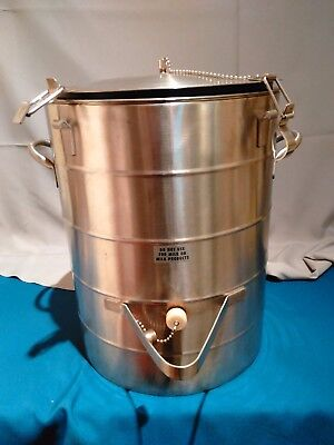 Stainless Steel 5 Gallon Thermal Vacuum Liquid/Fluids Dispenser Aervoid Urn