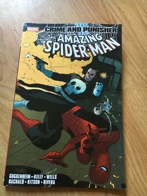Crime And Punisher The Amazing Spider-Man MARVEL comic. Great Condition. Unread