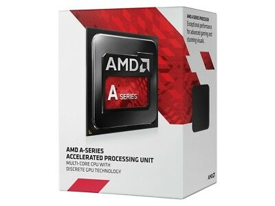 AMD A6-9500 CPU Dual Core AM4, Max 3.8GHz, 2MB Cache, 65W, Integrated Radeon ...