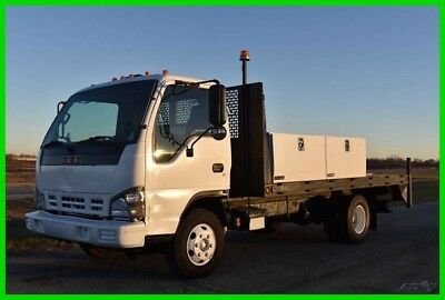 2006 GMC W4500 5.2 diesel 14ft Flat bed - No Reserve Auction!