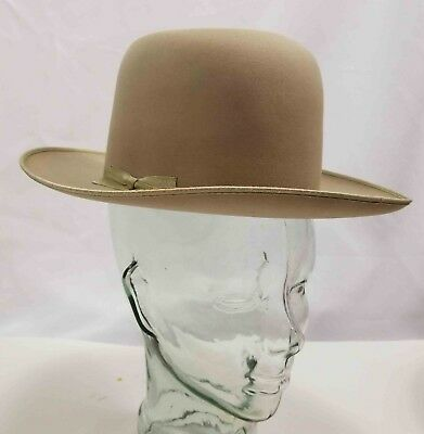"STETSON TWENTY FIVE ""THE OPEN ROAD""  Size 6 7/8 w/ Original Box"