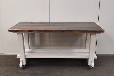 Fantastic Rustic Shabby Workbench * Kitchen Island * Dining Table