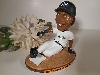 Orlando Hudson Bobblehead Toronto Blue Jays Sliding Into Home Plate O-Dog