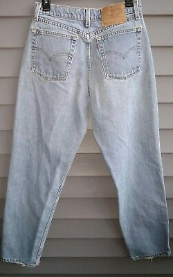 Vintage Levis 560 Jeans size 10 M, Loose Fit, Straight Leg, Made in USA