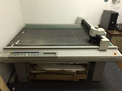 Mimaki CF09212-2 Flatbed Cutter/Drawing Plotter (sample maker)