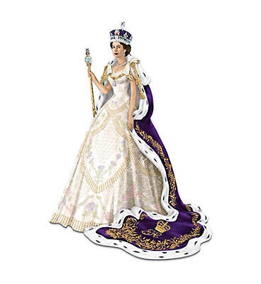 """""""The Coronation Of Queen Elizabeth"""" With Collector's Card"""