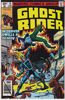 Ghost Rider #36 vf/nm