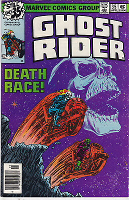 Ghost Rider #35 vf/nm