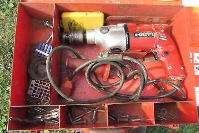 """Hilti Used TM7C 1/2"""" Chuck 2 Speed 2 Position Percussion Hammer Drill Kit"""