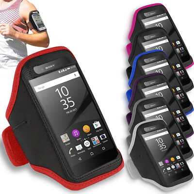 Premium Gym Armband Running Jogging Exercise Holder For Sony Xperia Z5 Premium