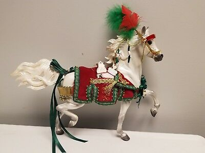 Breyer Nutcracker Prince 2009 Holiday Horse Series - Huckleberry Bey